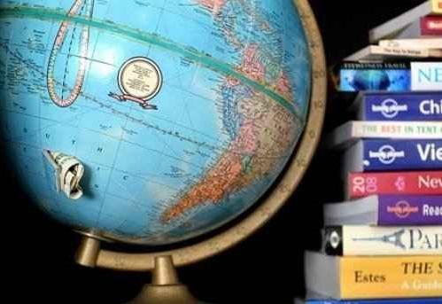 Lugares para esconder el dinero en casa. Guardar dinero y joyas dentro de una esfera de mapamundi