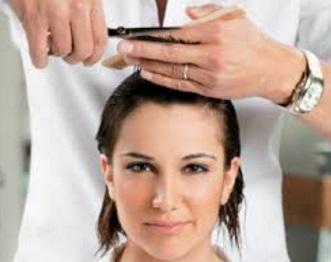 proses potong rambut benar