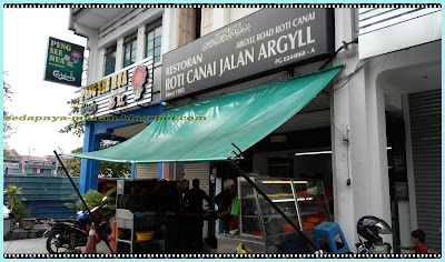 Restoran Roti Canai Jalan Argyll
