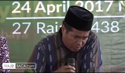 Detik-detik Meninggalnya Qori di Surabaya Saat Membaca Ayat Suci Al Qur'an
