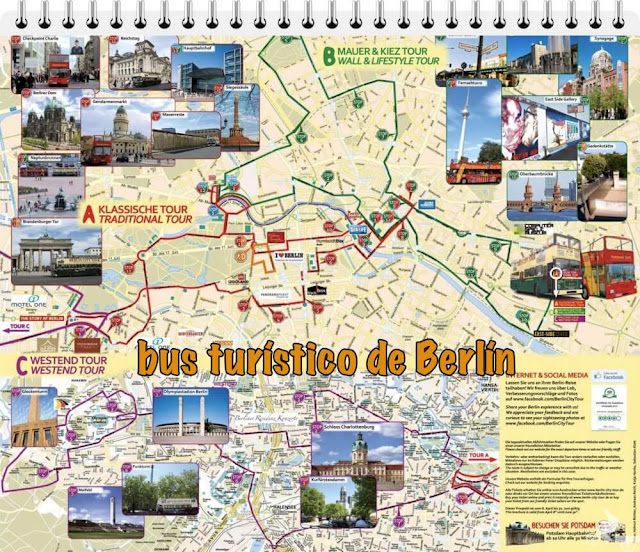 rutas bus turistico berlin citysightseeing
