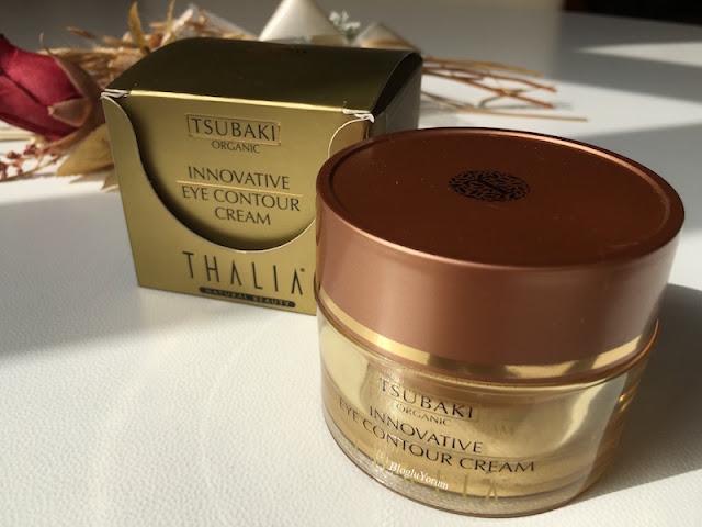 Thalia organik tsubaki yağlı göz çevresi bakım kremi