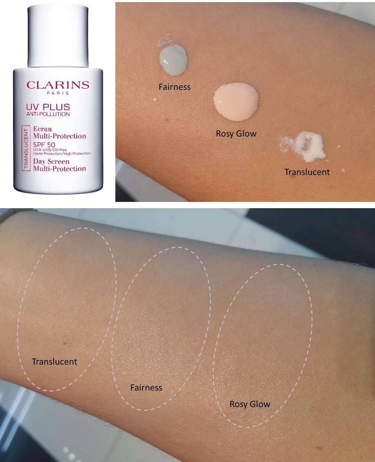clarins fairness cream