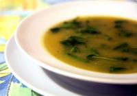 Sopa de Batata-Doce com Agrião (vegana)