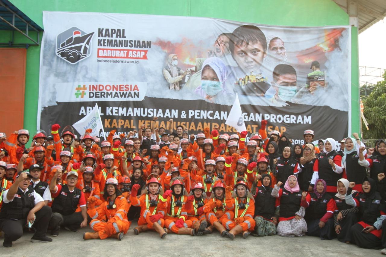 Bantu Atasi Kabut Asap, Masyarakat Relawan Indonesia (MRI) Kirim Ratusan Relawan Terlatih