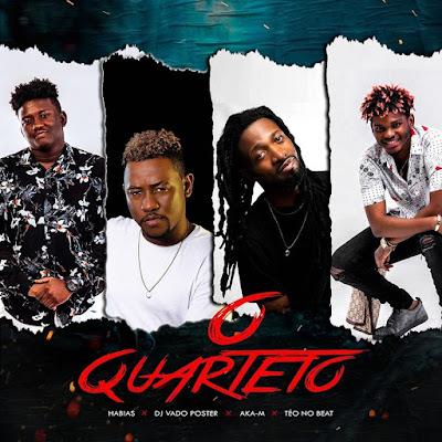 Dj Habias, Dj Vado Poster, Aka M & Teo No Beat - O Quarteto