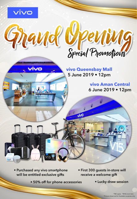 VIVO MALAYSIA EXPANDS ITS CONCEPT STORES TO PENANG AND KEDAH WITH SPECIAL DEALS AND DISCOUNTS FOR HARI RAYA AIDILFITRIPREPRE