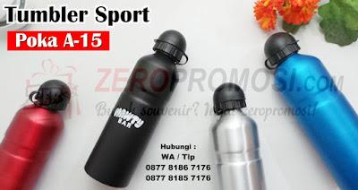 TUMBLER SPORT ALUMUNIUM HELM DELUXE, Botol Sport Poka A-15 murah, Tumbler Bottle Sport Poka A-15, Tumbler Alumunium Sport Helm Deluxe Limited, Souvenir Tumbler Sport Poka A-15