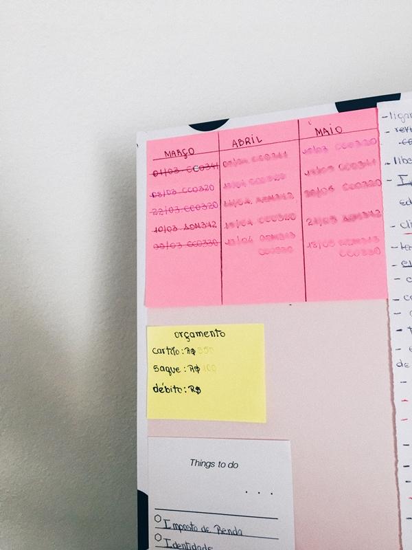 Post-its O Que Utilizar para Organizar a Rotina no Dia a Dia Sem Gastar Muito