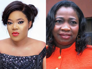 Toyin Abraham Calls Out Abike Dabiri For Blocking Her After Requesting Release Of Arrested #EndSARS Protesters In Egypt