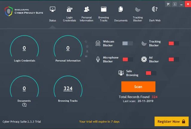 Cyber Privacy Suite (Falso optimizador)