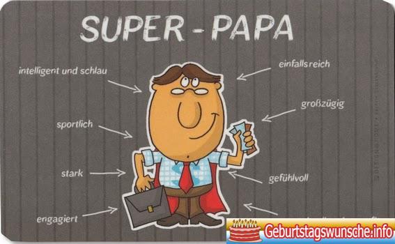 Gratulation zum geburtstag papa