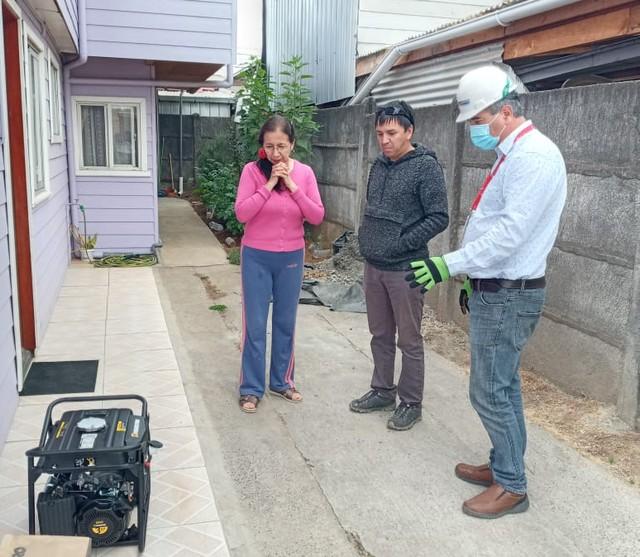 Electrodependiente en Osorno
