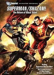 Superman/Shazam The Return of Black Adam (2010) Dual Audio Full Movie HDRip 720p