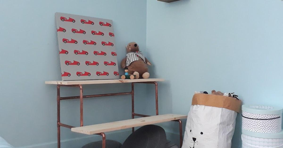 diy de rentr e fabriquer un bureau pour enfant. Black Bedroom Furniture Sets. Home Design Ideas
