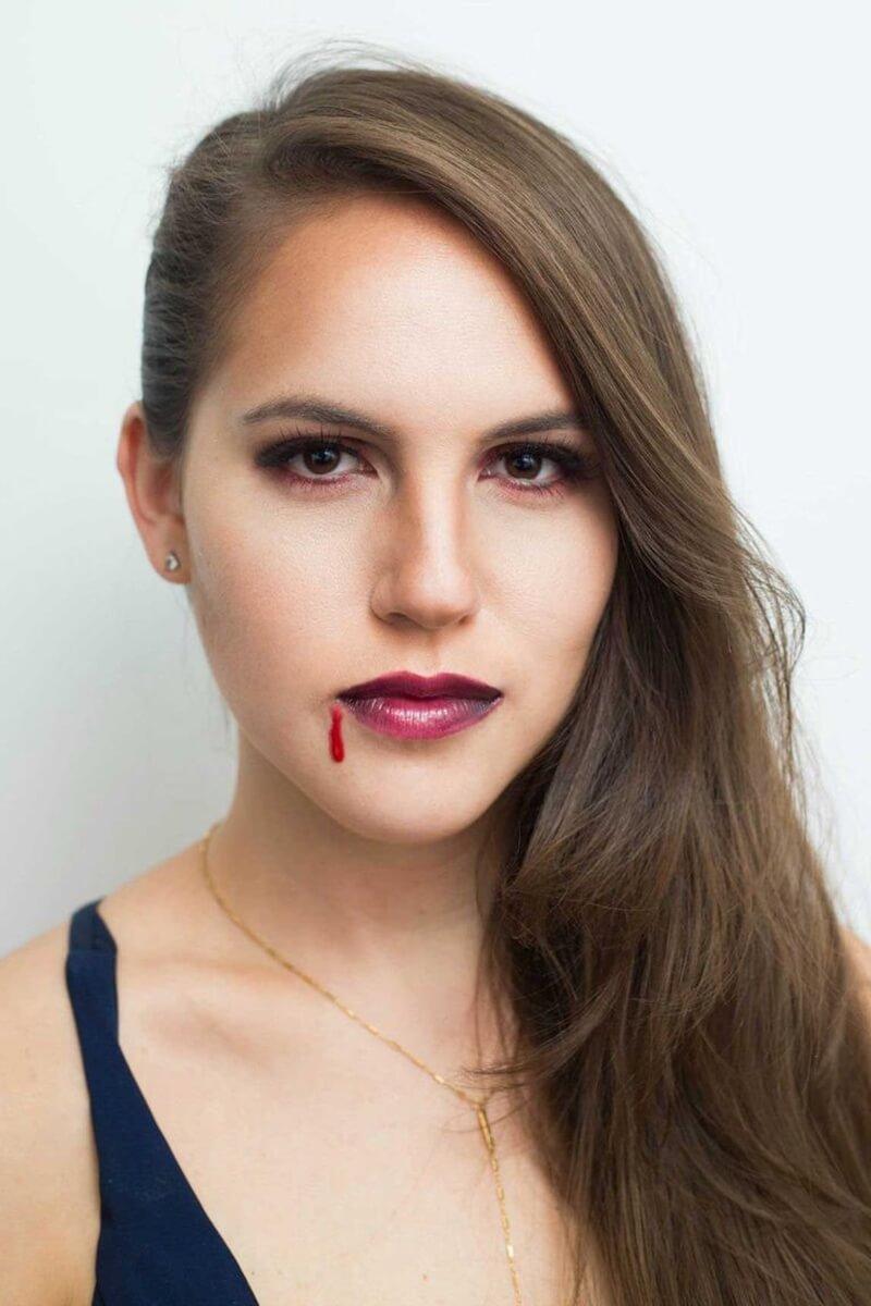 Maquiagem Vampira Halloween