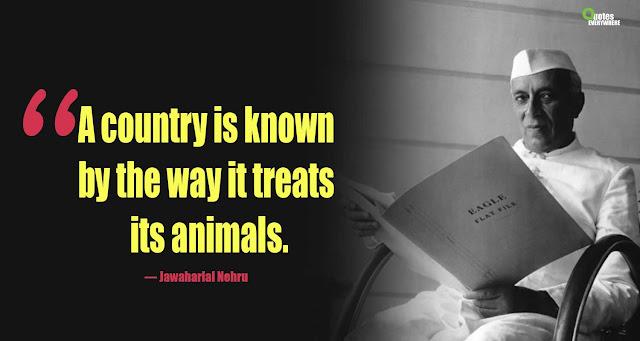Jawaharlal Nehru Quotes on india