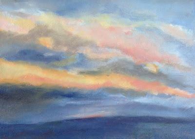 Sky Over Bell Hill - N. Van Blaricom