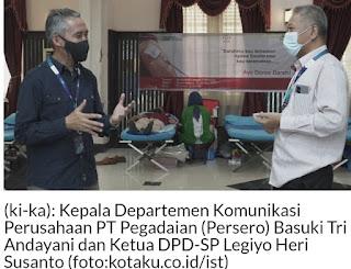 Stok Darah Menipis, Insan Pegadaian Gelar Donor Darah Dua Hari Berturut-Turut