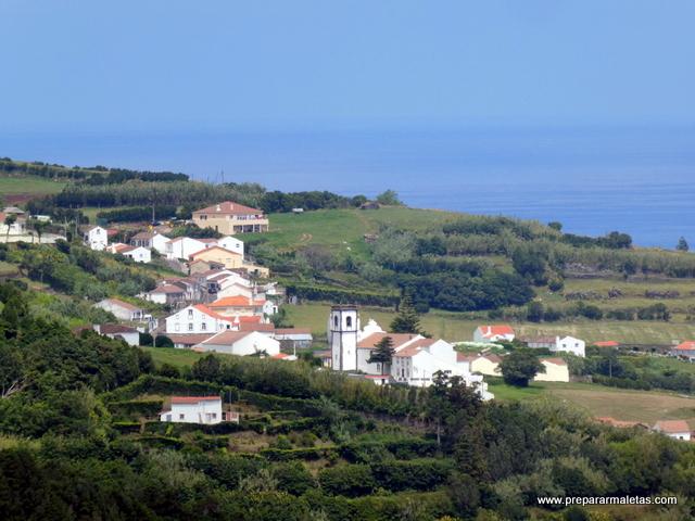 pueblos de las islas Azores