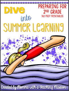 https://www.teacherspayteachers.com/Product/First-Grade-Summer-No-Prep-Printables-Prepping-for-2nd-grade-1851594
