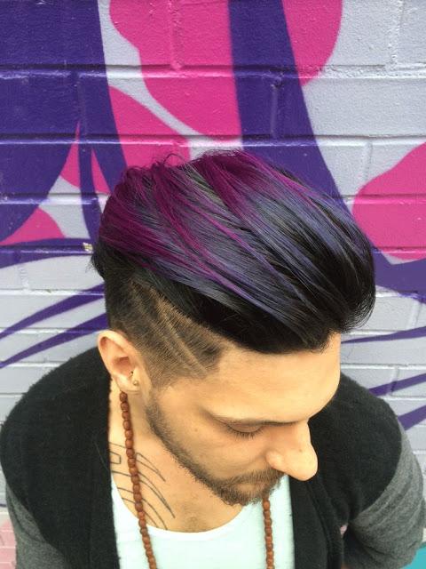 cores de cabelo masculino mechas roxo (12) (1)