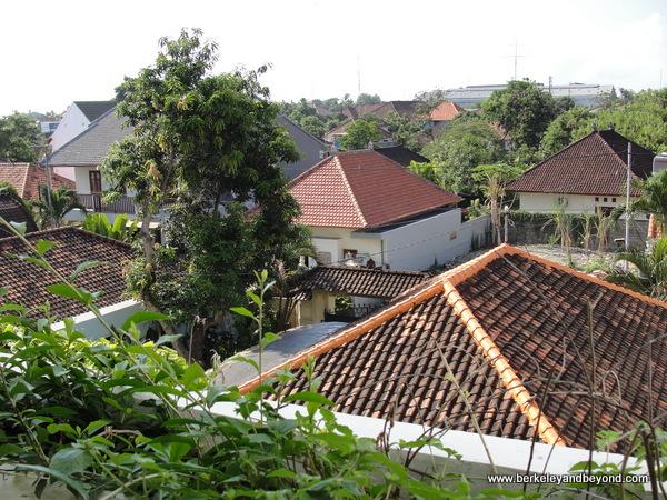third-floor guest room view at Swiss-Belresort Watu Jimbar in Sanur, Bali, Indonesia