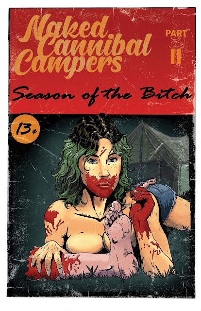 Sean Donohue confirma NAKED CANNIBAL CAMPERS 2: SEASON OF THE BITCH