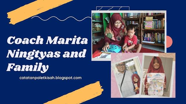 Coach Marita Ningtyas Family