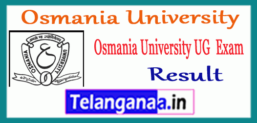 OU Degree 1st 2nd 3rd Year Exam Result