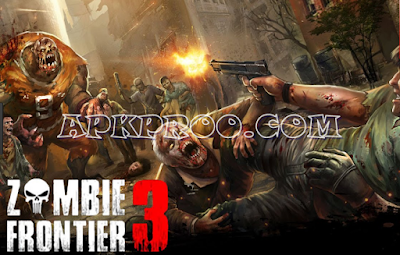 Download Zombie Frontier 3 Mod Apk + Data Terbaru Unlimited Money, Gems & Gold