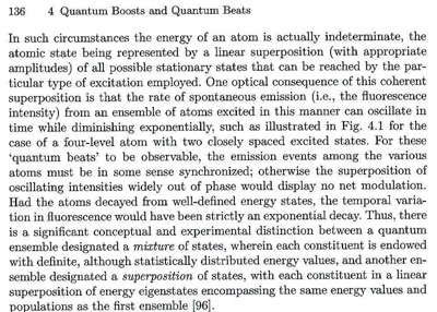 "Demonstration of quantum superposition principle (Source: Silverman, ""Quantum Superposition"")"