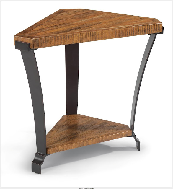 Beautiful Triangle End Table Photograph