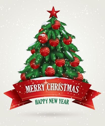 Happy Merry Year New And Christmas 2017 Greetings
