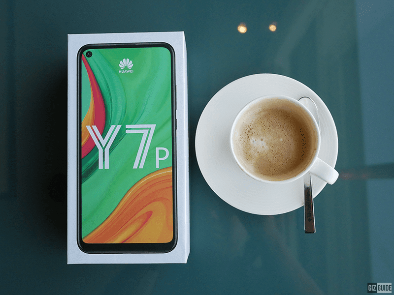 Huawei Y7p Unboxing and First Impressions