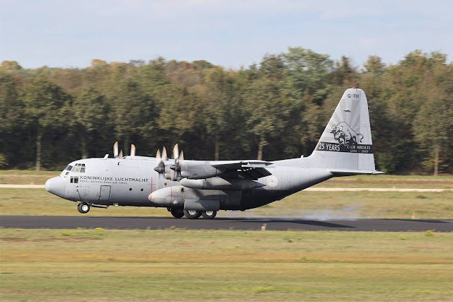 Dutch C-130 special tail Bull