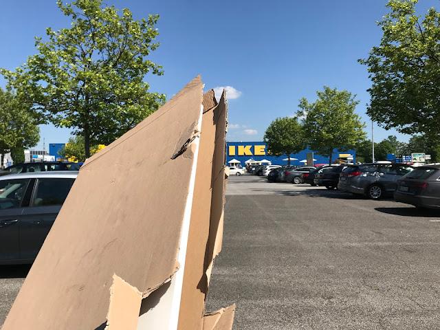 Auf zu IKEA, Tür umtauschen