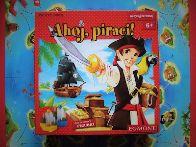 """Gra """"Ahoj, piraci!"""". gra dla dzieci szkolnych, gra dla sześciolatków"""