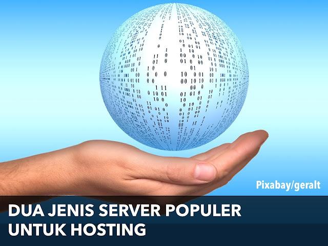 Dua Jenis Server Populer untuk Hosting