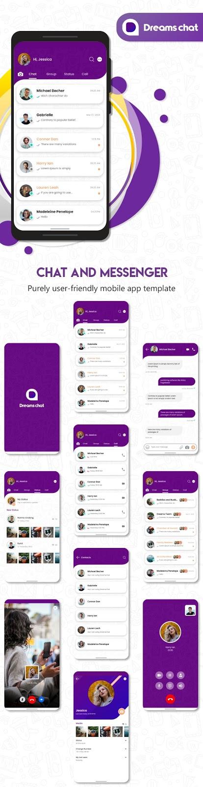 Mobile App Template Framework 7