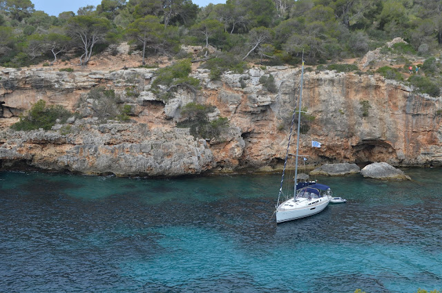 Cala Pi, vista da Ponta de Cala Pi, Mallorca.