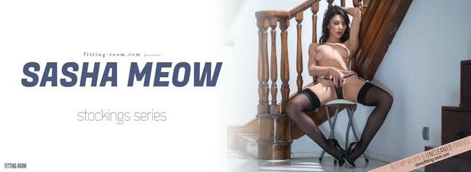 1621043519_sas [Fitting-Room] Sasha Meow - Stockings Series / Erotic Garter fitting-room 05230