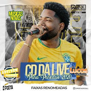 O POETA - CD DA LIVE PRA PAREDÃO 2020