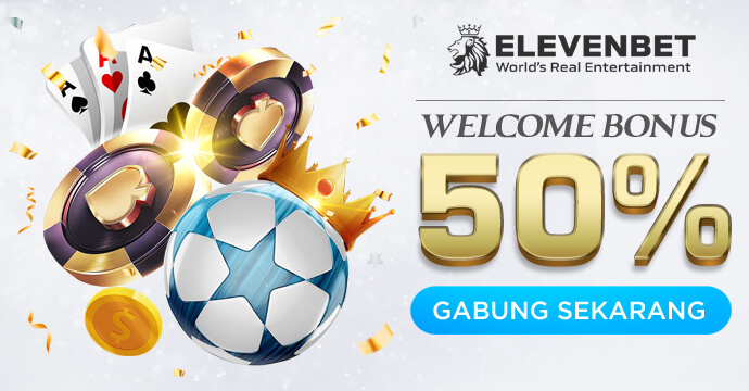 Welcome Bonus 50%
