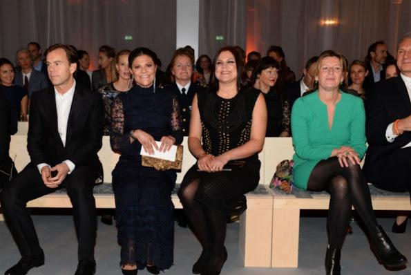 "Crown Princess Victoria of Sweden attended the presentation ceremony of ""Global Change Award"" at the Stockholm City Hall, Sweden."