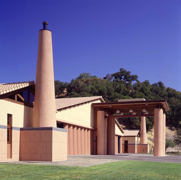Bodegas de Pegase en Napa Valley. Michael Graves