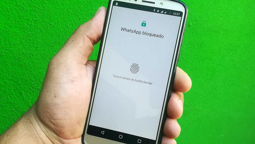 Bloquear y desbloquear WhatsApp con huella dactilar