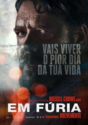 Russell Crowe Regressa Aos Cinemas e Como Vilão Com Em Fúria