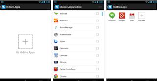 Menyembunyikan Aplikasi dan Game Di Android