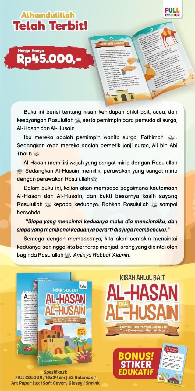 Buku Anak Kisah Ahlul Bait Al-Hasan dan Al-Husain Attuqa